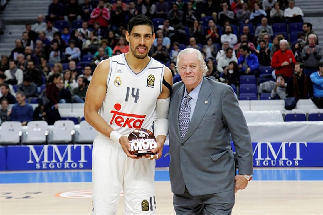 Gustavo Ayón y Felipe Reyes comandaron triunfo del Real Madrid baloncesto