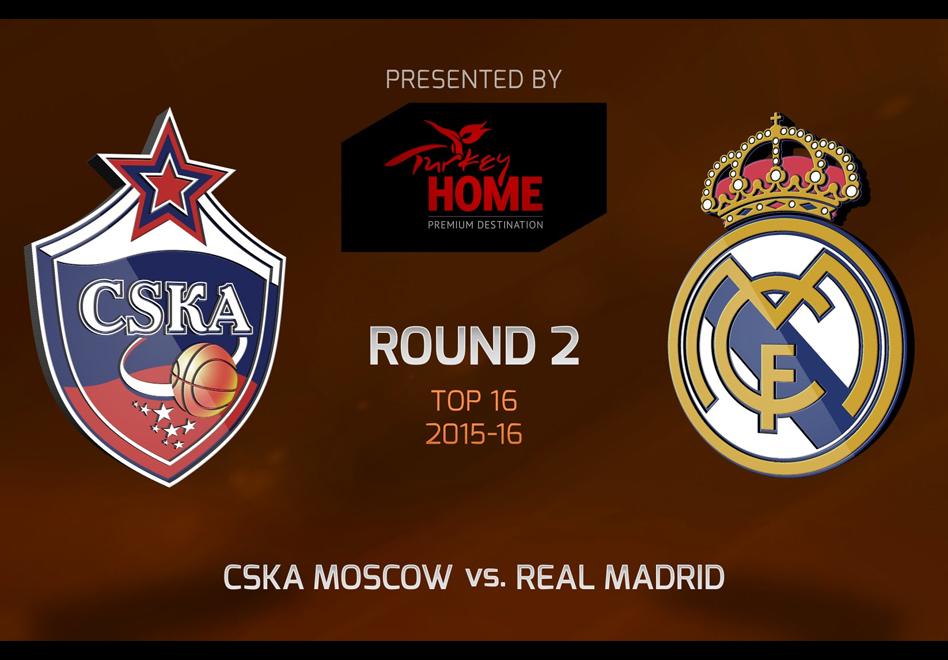 El Real Madrid perdió en su visita a Moscú