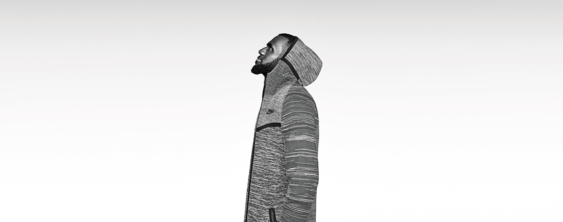 En entrevista, LeBron James, la moda y Nike Tech Knit