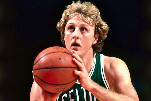 Larry Bird, unos de los jugadores blancos mas famosos de la NBA