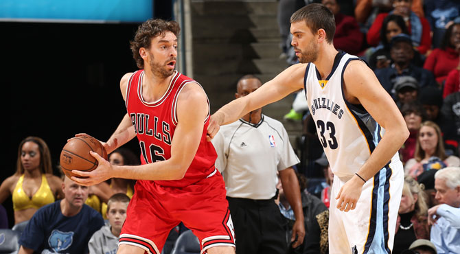 Hermanos en la NBA
