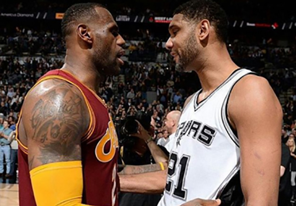 Tributo del King James a Tim Duncan