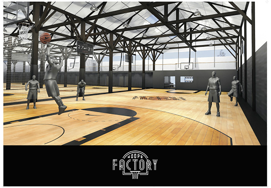 nike hoops Factory en paris