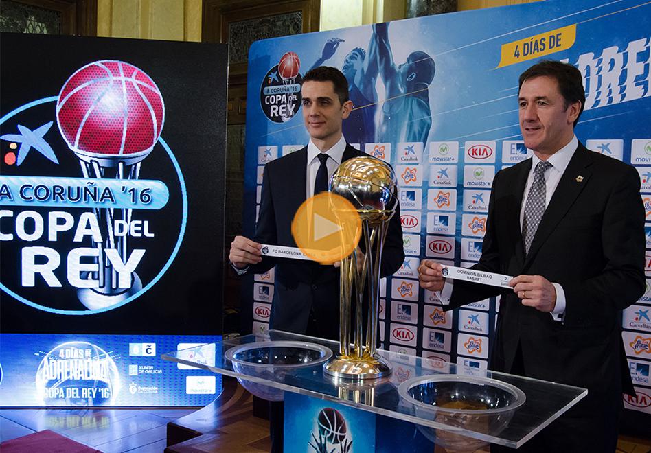 Listos los duelos en la Copa del Rey de la Liga Endesa
