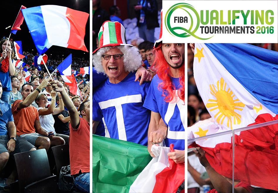 FIBA anuncia las sedes del repechaje rumbo a Rio 2016