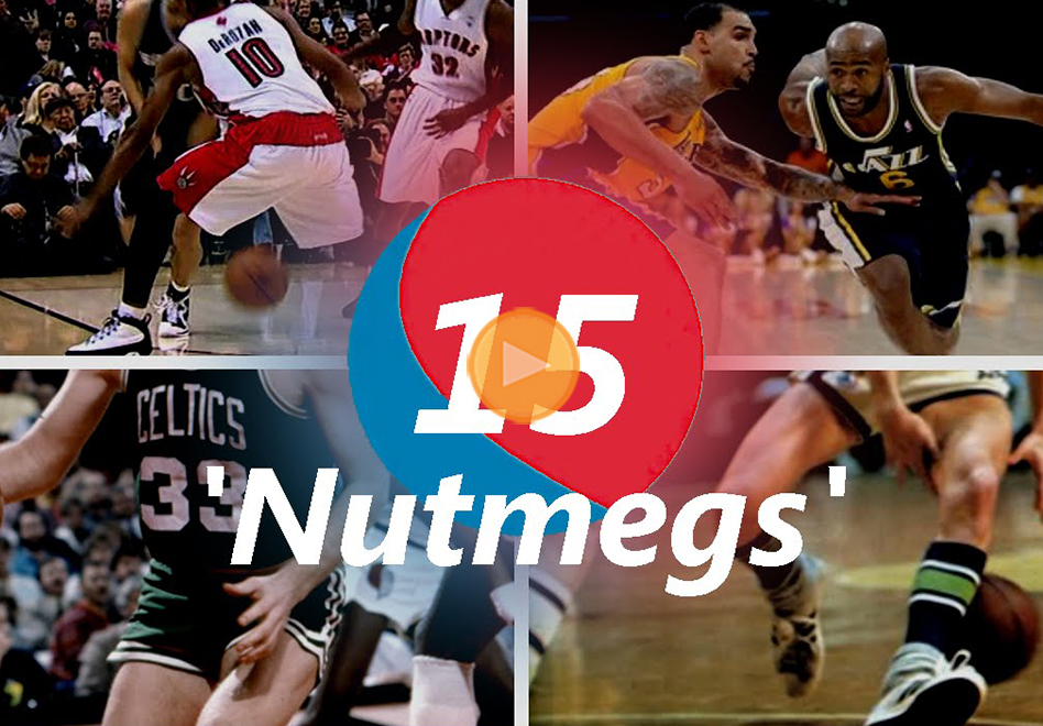 top 15 de los nutmegs o tuneles en la NBA