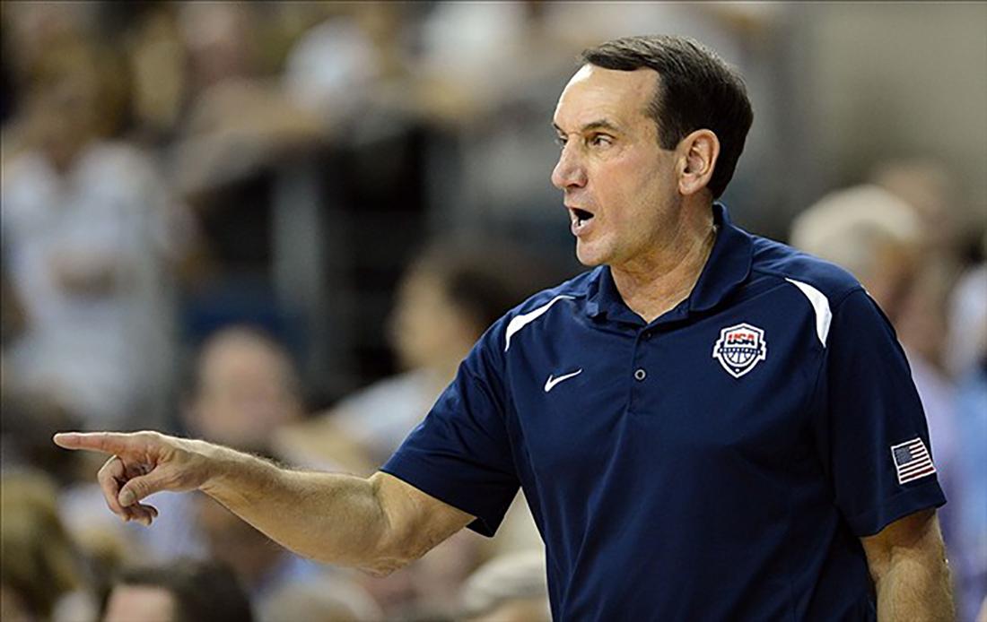 ¿El coach Mike Krzyzewski en duda para Rio 2016?
