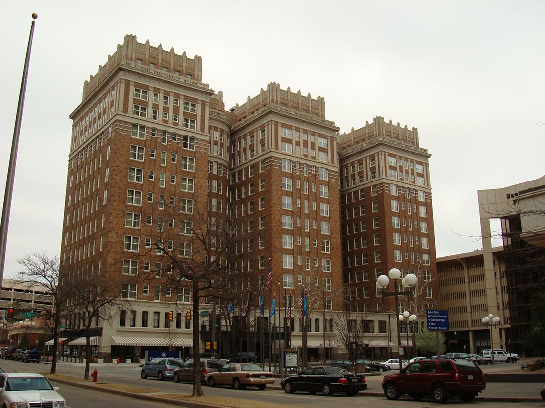 """el """"embrujado"""" Hotel Skirvin de Oklahoma"""