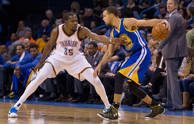 Los Warriors posible destino de Kevin Durant