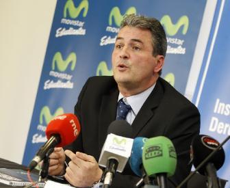 Sergio Valdeolmillos fue presentado con Estudiantes