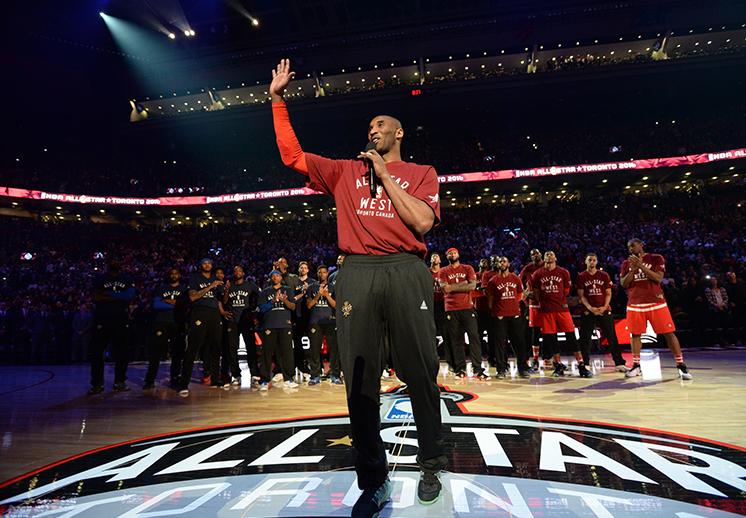 El adiós a Kobe Bryant en el NBA All-Star Game