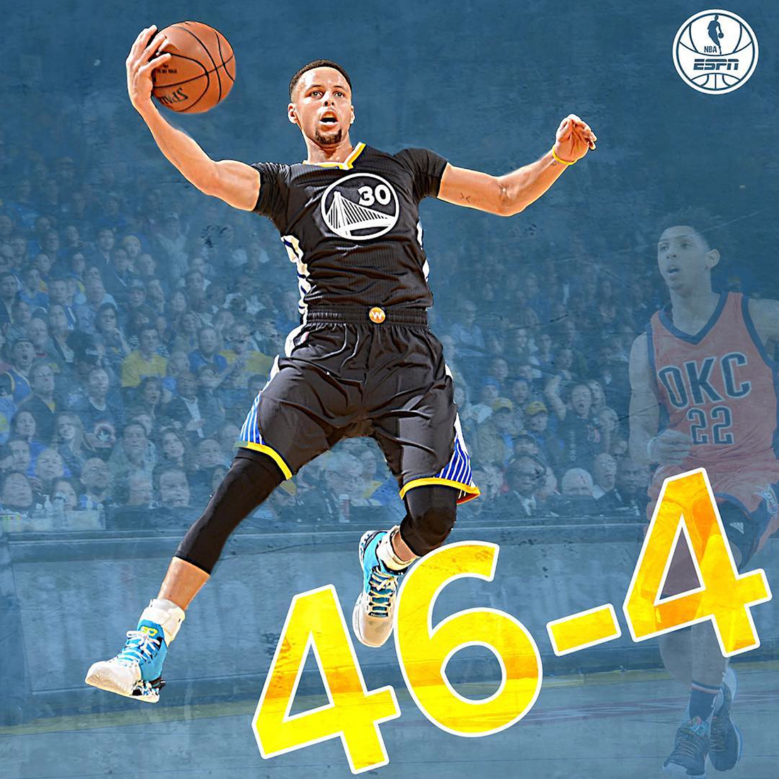 Stephen Curry y los warriors siguen haciendo historia