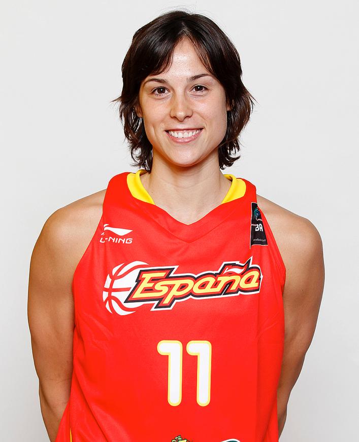 Núria Martínez, jugadora de la selección española de baloncesto y actualmente en el Galatasaray