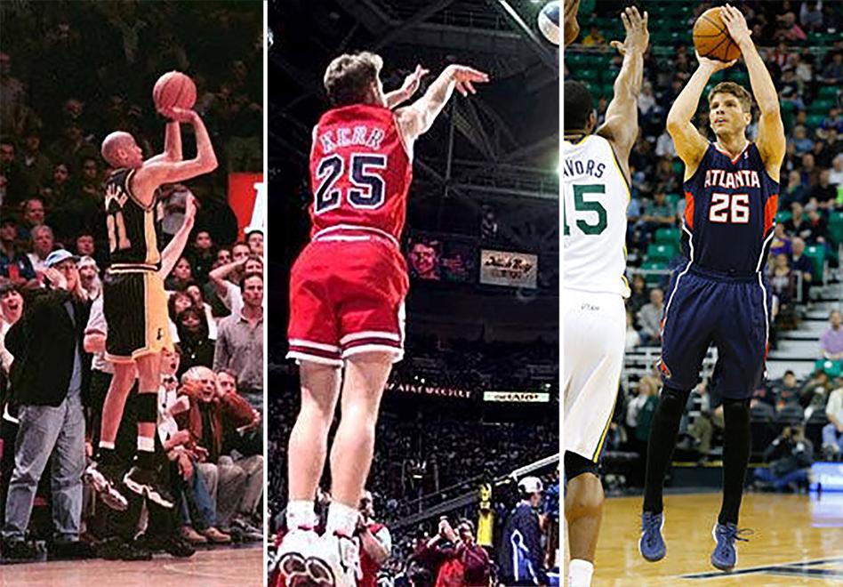 los mejores tripleros de la NBA