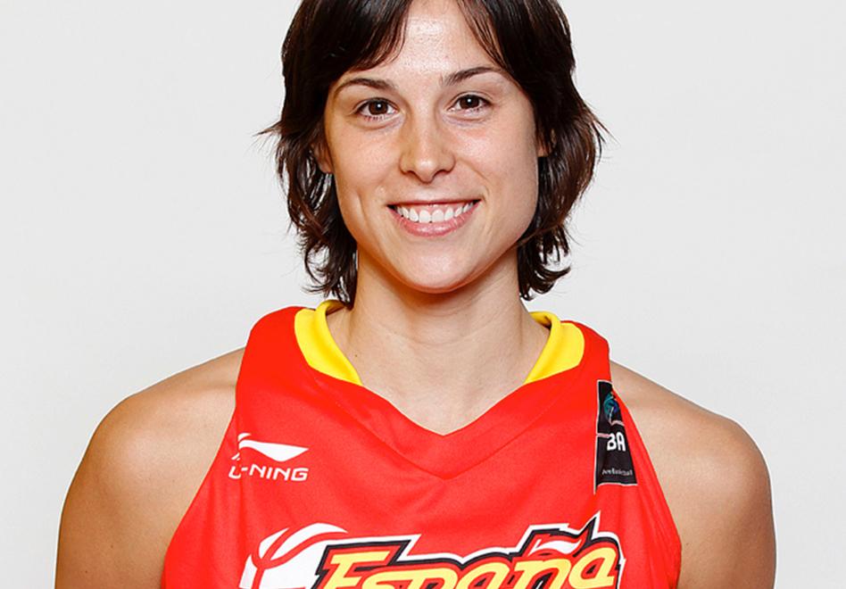 thumbnail. Núria Martínez, jugadora de la selección española de baloncesto y actualmente en el Galatasaray
