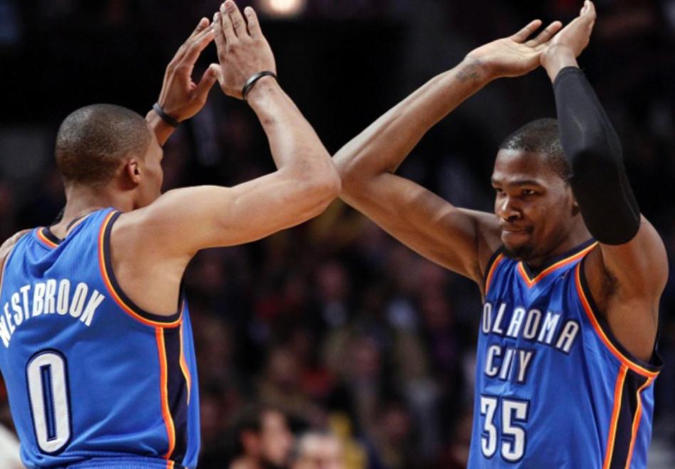 No imagino un Thunder sin la dupla fantastica de Durant – Westbrook.