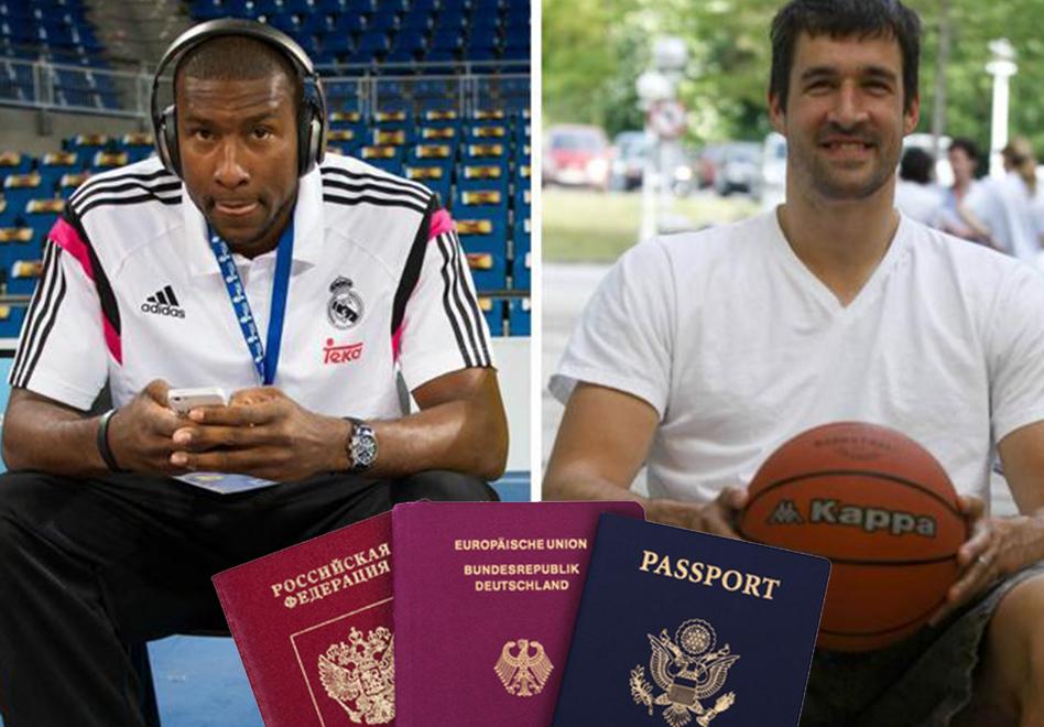 Slaughter y Panko acusados de falsificar su pasaporte.
