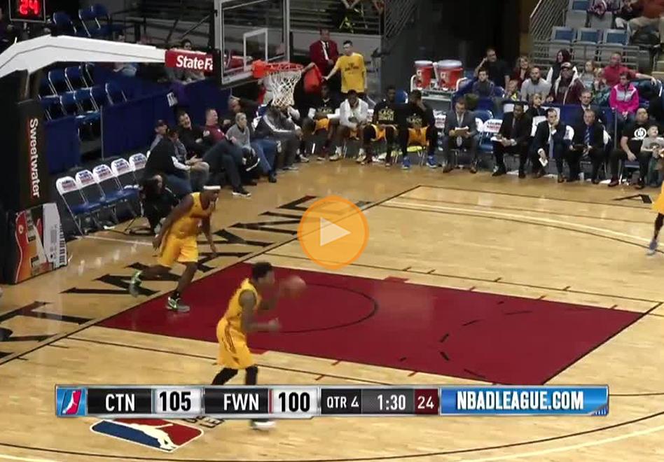 Jorge Gutiérrez brilla con el Canton Charge en la NBA D-League