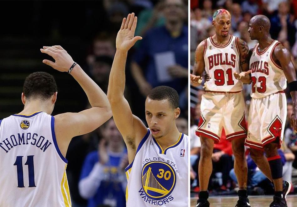 Todo Jordan necesita un Rodman, curry y thompson