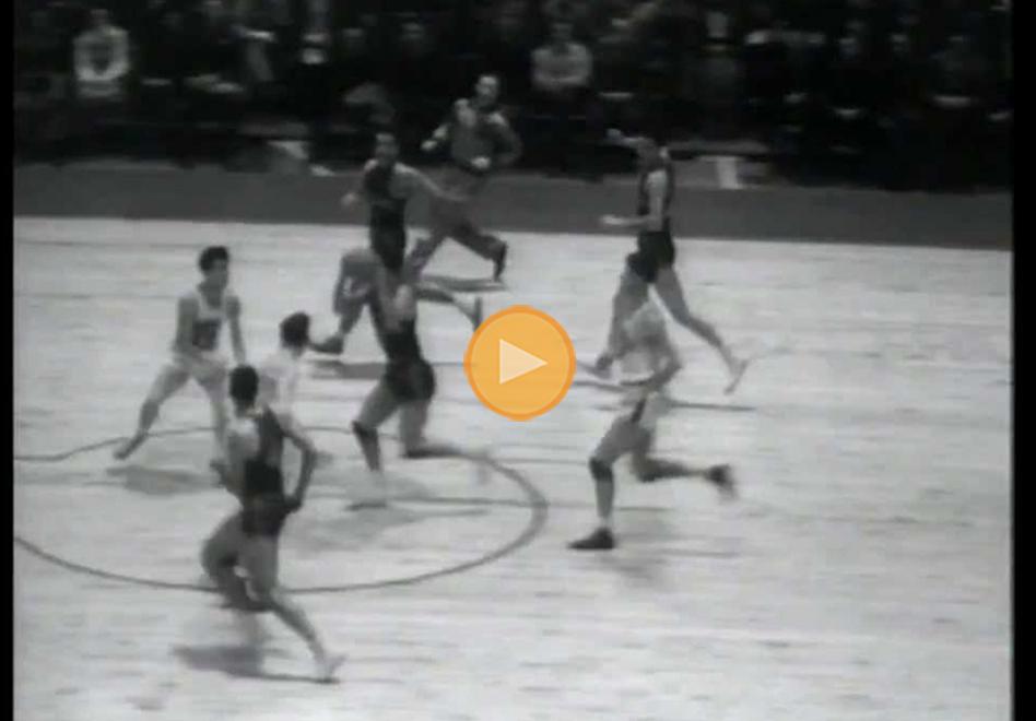 El primer partido en la historia de la NBA