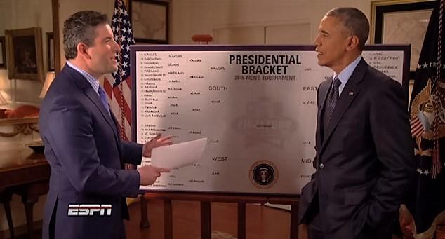 Los favoritos de Barack Obama para el March Madness