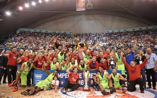 FOTO1, Guaros de Lara conquistó la Liga de Las Américas
