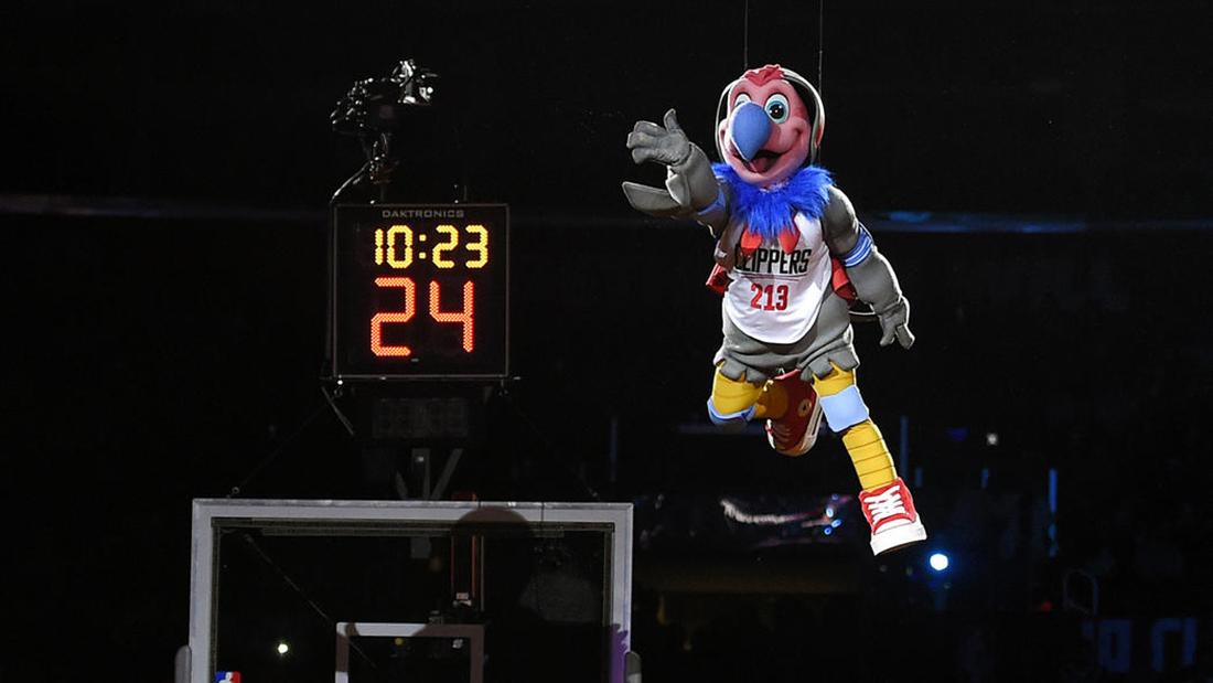 Los Clippers estrenan mascota