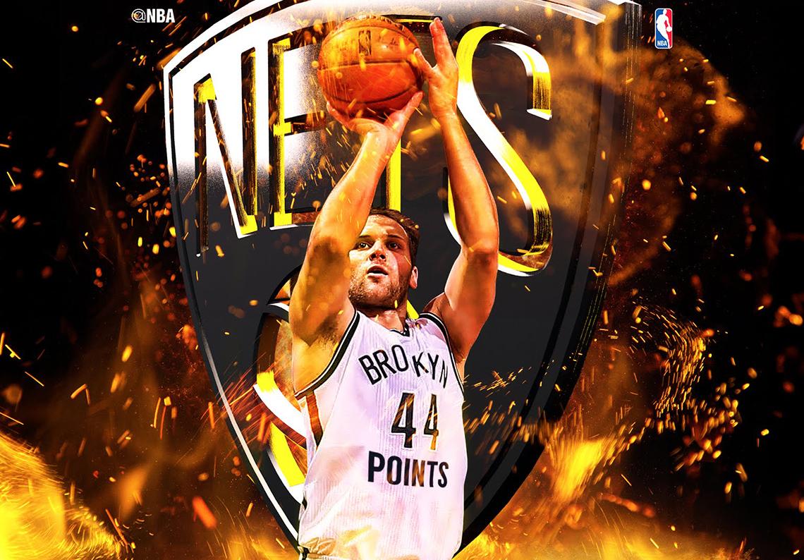 Bogdanovic igualó récord de Petrovic con los Nets