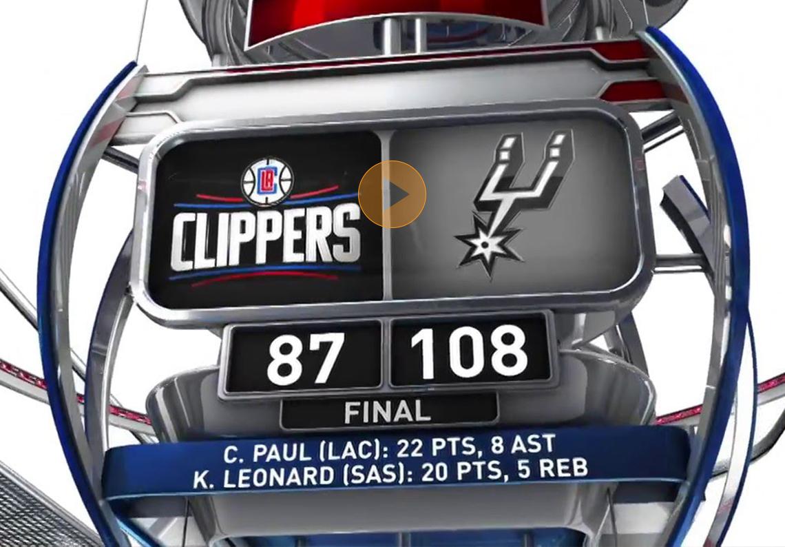 thumbnail. Los Spurs van récord tras récord