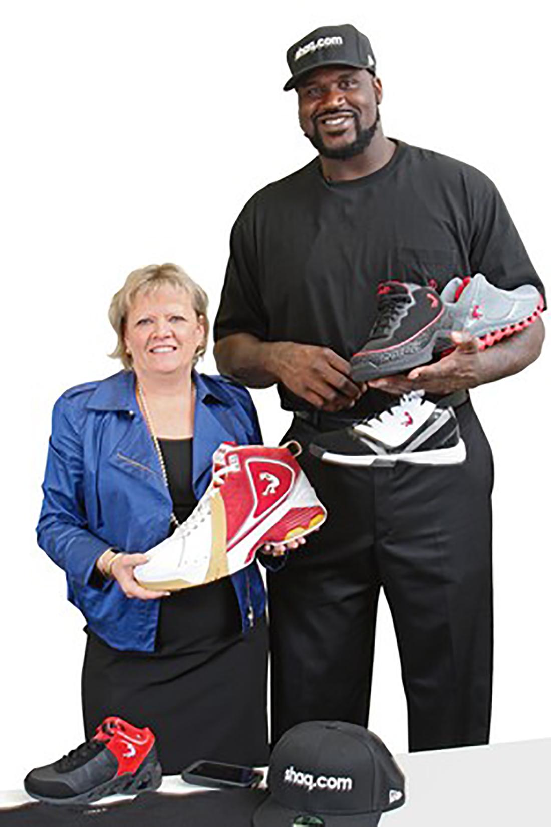 Los sneakers Shaq.