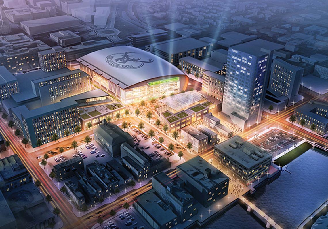 thumbnail. Los Bucks preparan una nueva arena.