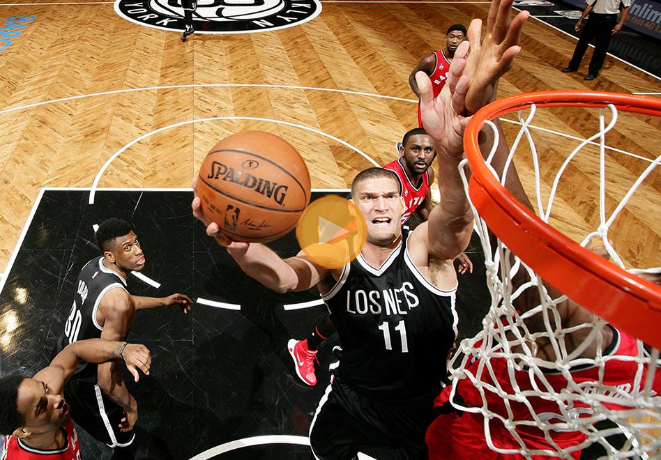 thumbnail. Brooklyn Nets en Listas las noches ÉNE•BÉ•A