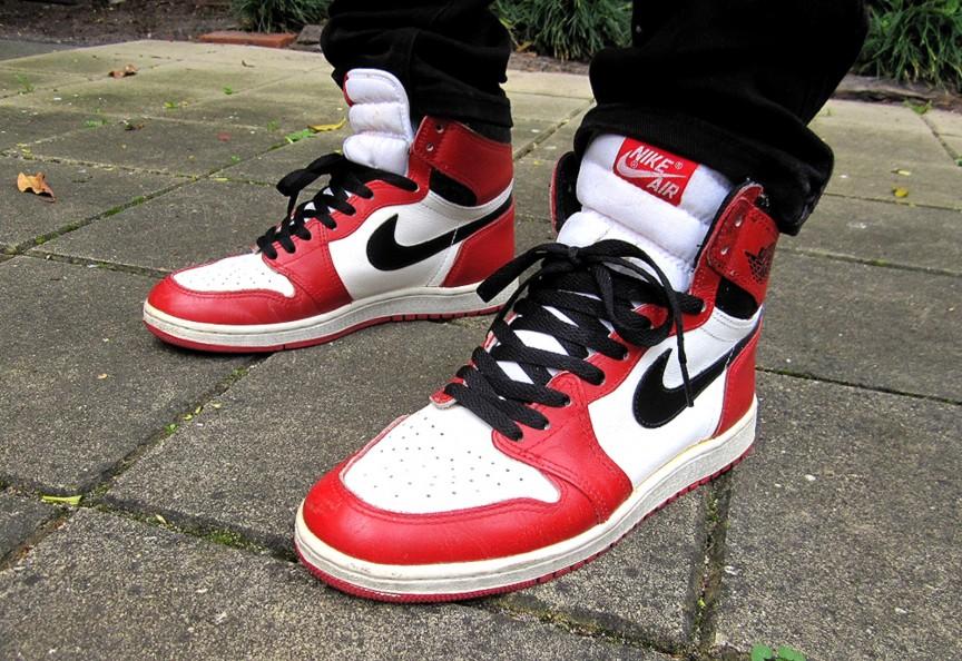 1985 Nike Air Jordan I – Michael Jordan.