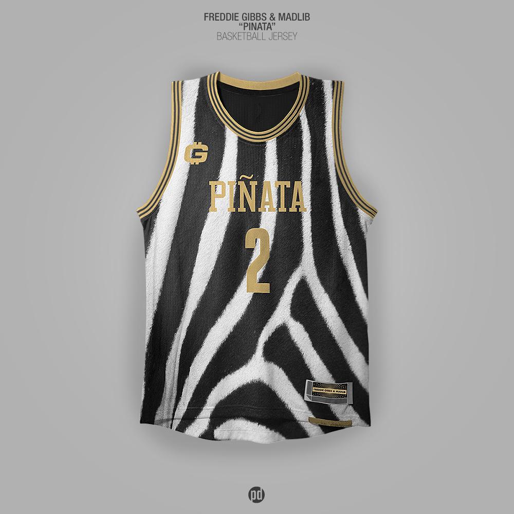 Los jerseys de basquetbol inspirados en álbums de hip hop foto 2