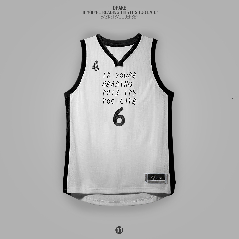 Los jerseys de basquetbol inspirados en álbums de hip hop foto 3