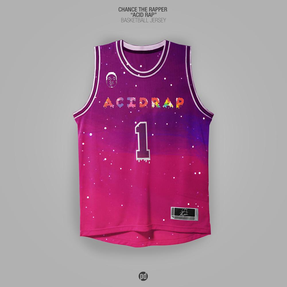 Los jerseys de basquetbol inspirados en álbums de hip hop foto 4