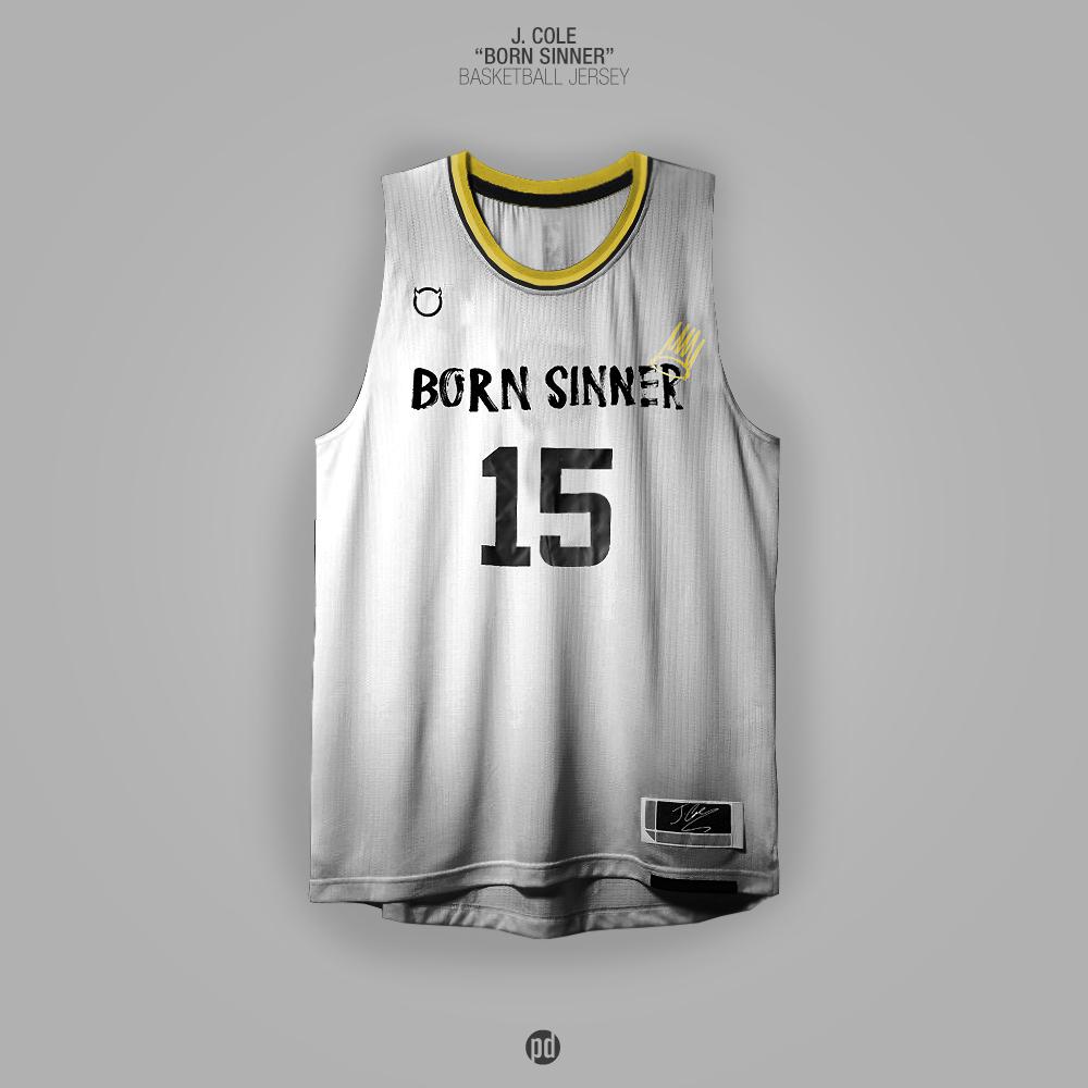 Los jerseys de basquetbol inspirados en álbums de hip hop foto 5