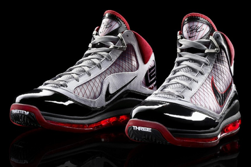 2009 Nike Air Max LeBron VIII – LeBron James.