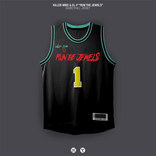 Los jerseys de basquetbol inspirados en álbums de hip hop foto 6