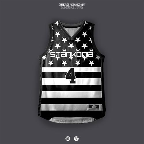 Los jerseys de basquetbol inspirados en álbums de hip hop foto 7