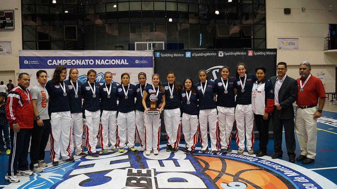 Las Águilas de la UPAEP campeonas de los Ocho Grandes por Viva Basquet