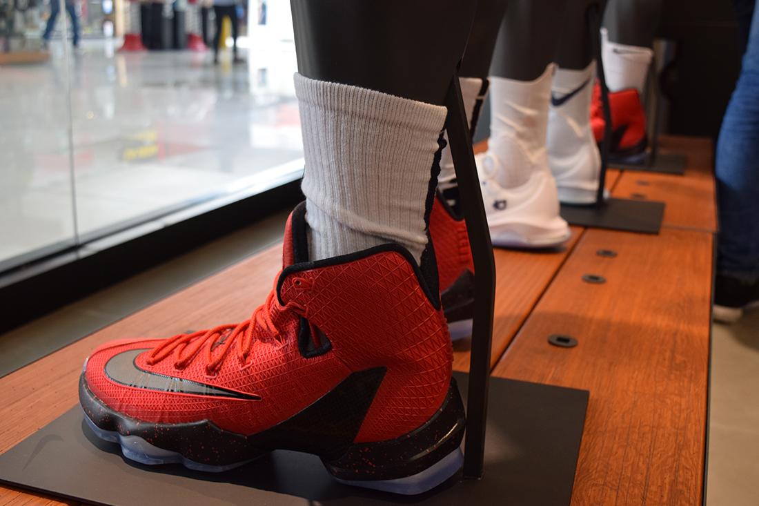 5 La inauguración de Nike Basquetbol y Sportswear