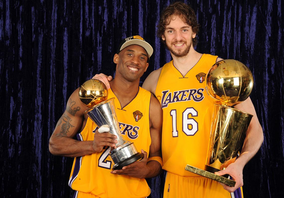 Los Mejores Compañeros de Kobe por Viva Basquet