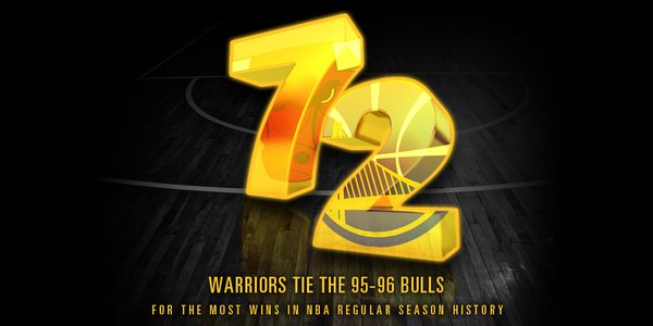 los warriors empatan el record de los bulls