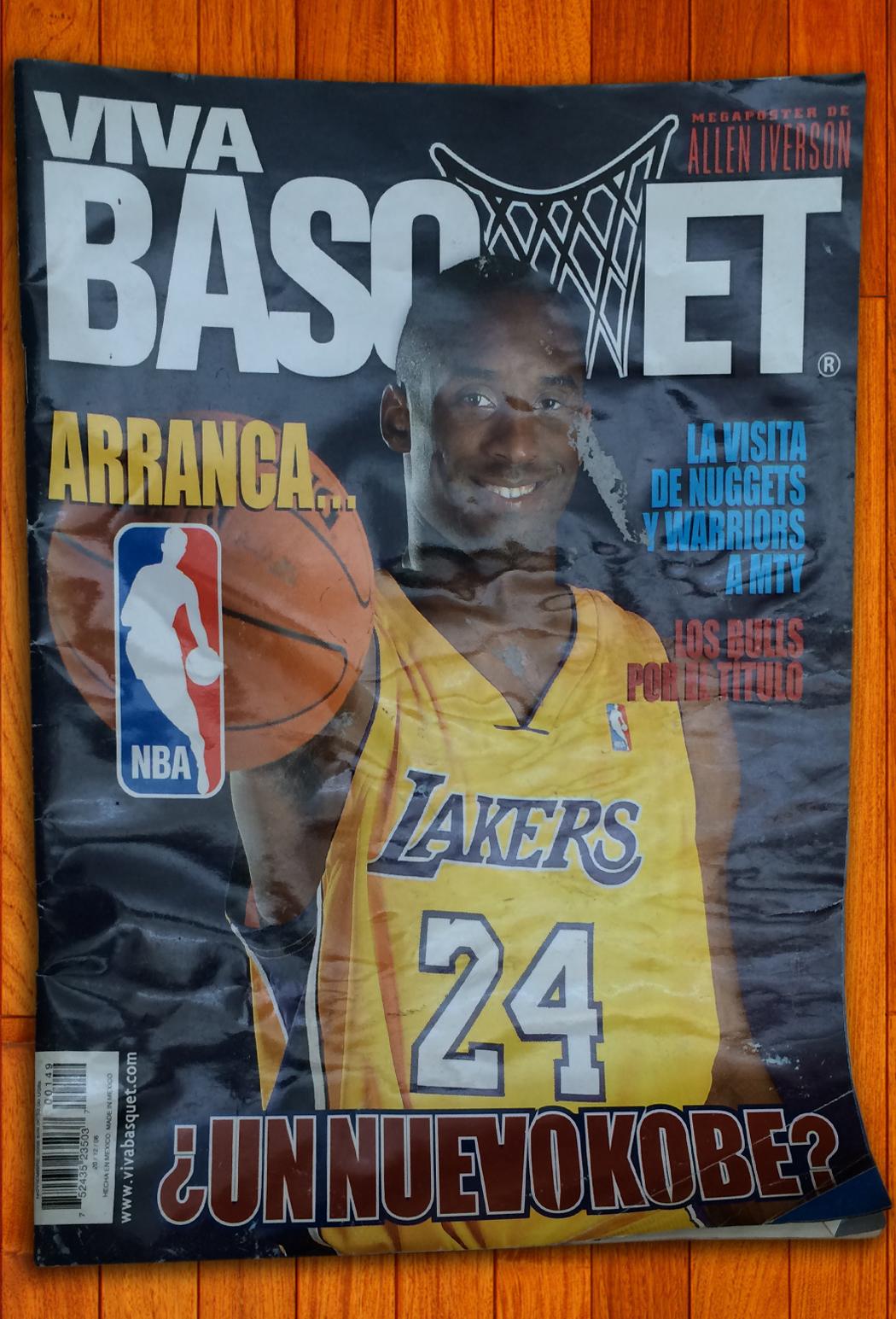 Kobe Bryant en viva basquet foto 1