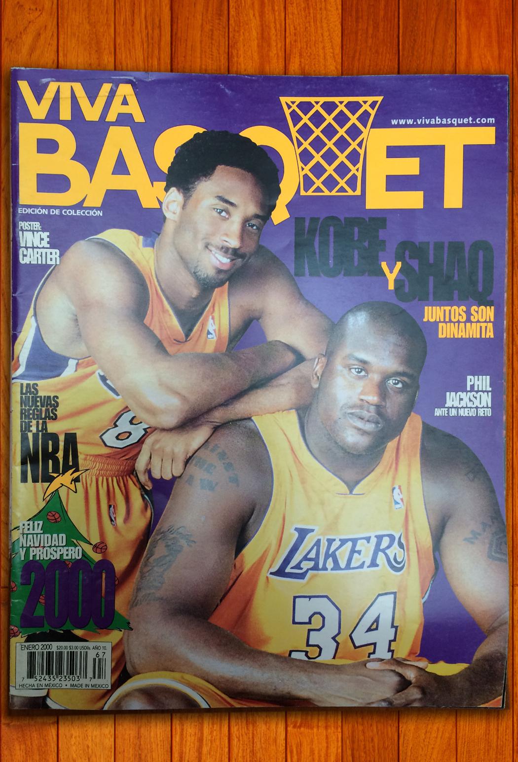 Kobe Bryant en viva basquet foto 2