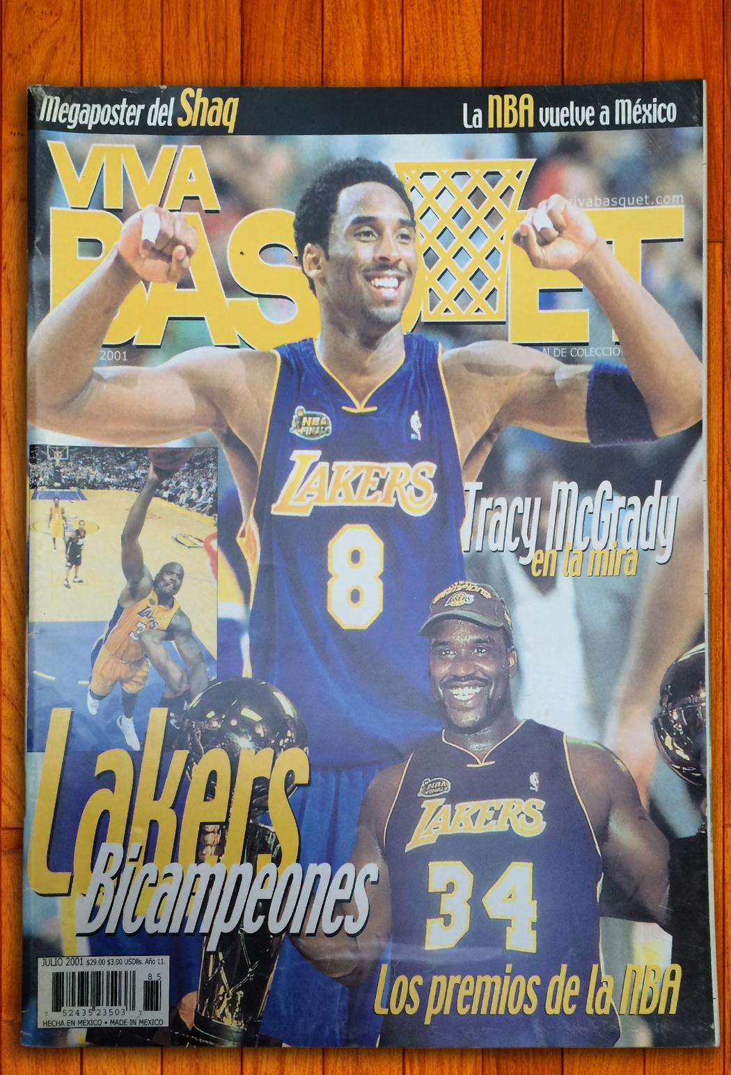 Kobe Bryant en viva basquet foto 3
