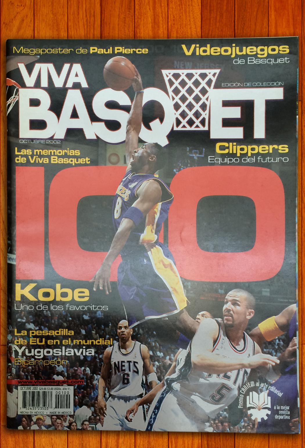 Kobe Bryant en viva basquet foto 4