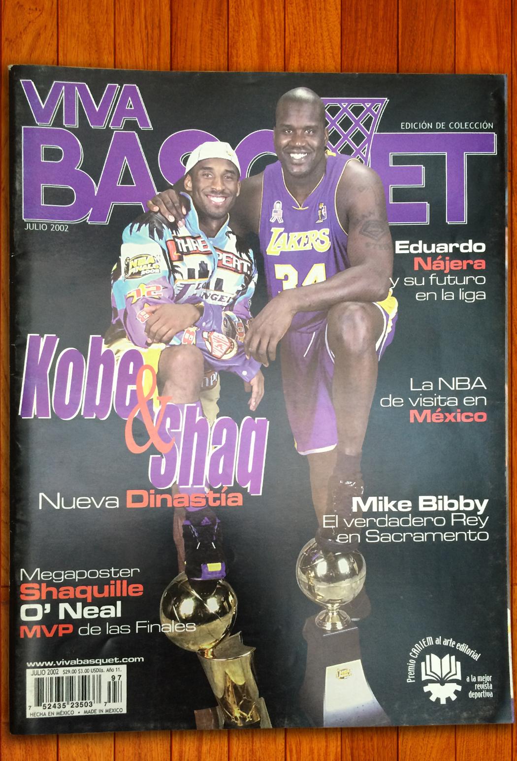 Kobe Bryant en viva basquet foto 5