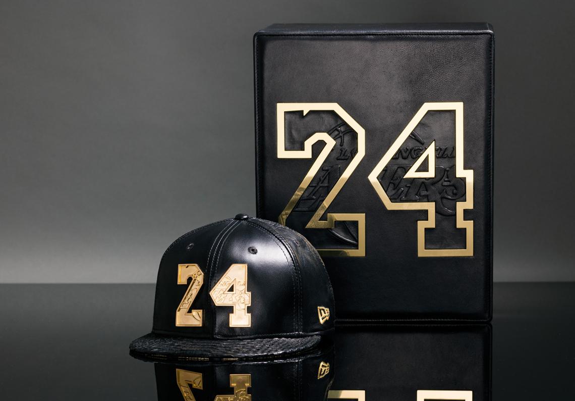 Gorras de lujo para despedir a Kobe Bryant por viva Basquet